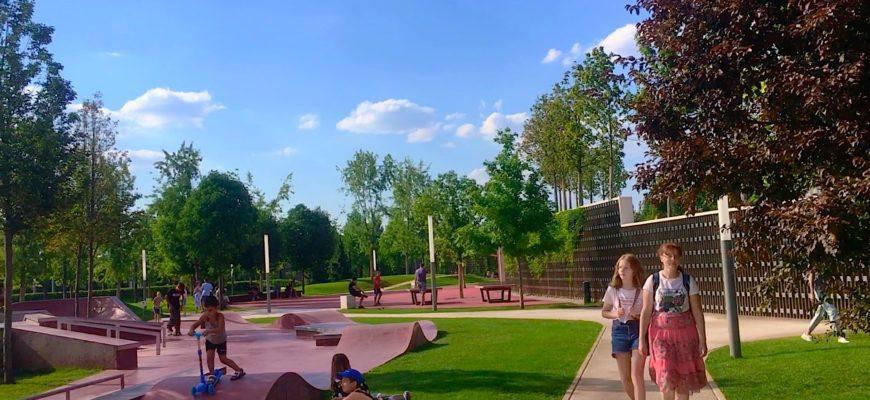 Парк Галицкого Краснодар 2020 | Детские площадки |Часть 2