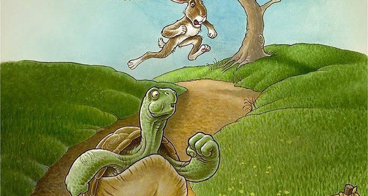 Сказка - притча про черепаху и зайца