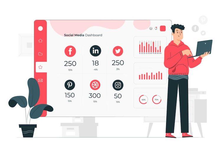 Менеджер социальных сетей